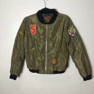 AirForce Bomber Jacket with Patches